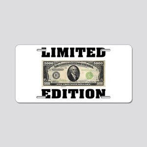 LIMITED EDITION Aluminum License Plate