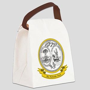 South Carolina Seal Canvas Lunch Bag