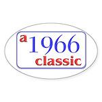 1966 Classic Oval Sticker