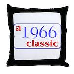 1966 Classic Throw Pillow