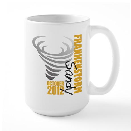 Frankenstorm Hurricane Sandy Large Mug