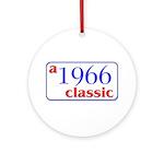 1966 Classic Ornament (Round)