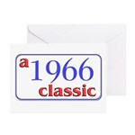 1966 Classic Greeting Cards (Pk of 10)