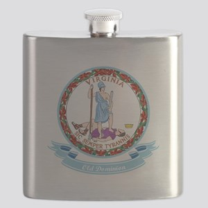 Virginia Seal Flask