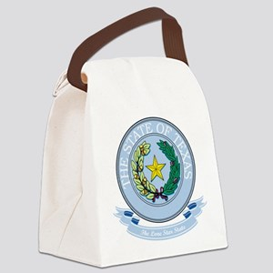 Texas Seal Canvas Lunch Bag