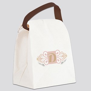 DCOOLMONOGRAM Canvas Lunch Bag