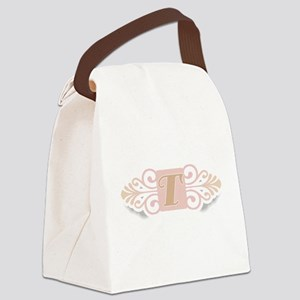 TCOOLMONOGRAM Canvas Lunch Bag