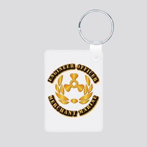 USMM - Engineer Officer Aluminum Photo Keychain