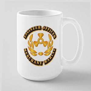 USMM - Engineer Officer Large Mug