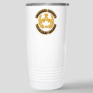 USMM - Engineer Officer Stainless Steel Travel Mug
