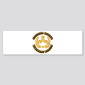 USMM - Engineer Officer Sticker (Bumper)