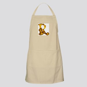 Blown Gold R BBQ Apron