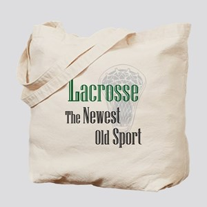 Lacrosse The Newest Old Sport Tote Bag