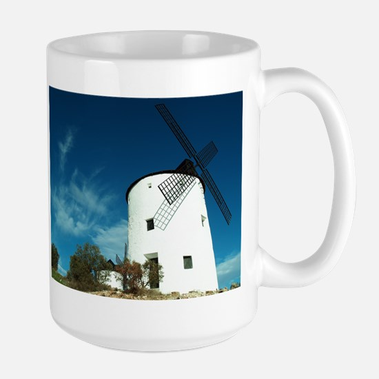 Large Mug - Windmill of Puerto Lapice