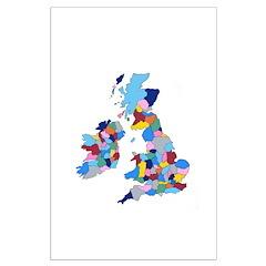 England, Ireland, Scotland Wales Posters