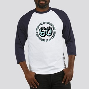 60th birthday, big sixty Baseball Jersey