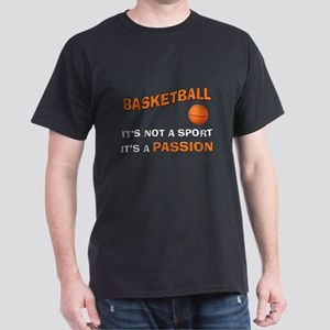 Basketball It's a Passion Dark T-Shirt