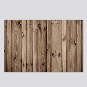 rustic farmhouse barn wo Postcards (Package of 8)