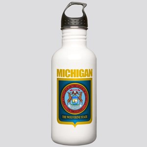 Michigan Gold Label Stainless Water Bottle 1.0L