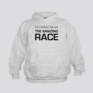 Id Rather be on The Amazing Race Kids Hoodie