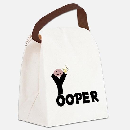 Cute Da yoopers Canvas Lunch Bag
