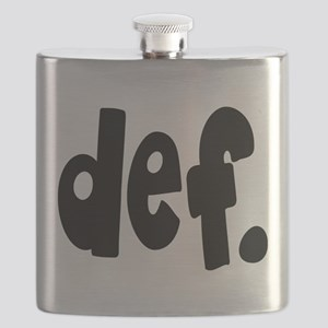 def. Flask