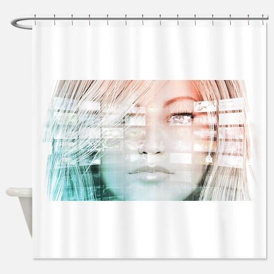 Data Science Shower Curtain