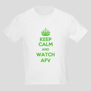 Keep Calm and Watch AFV Kids Light T-Shirt