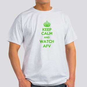 Keep Calm and Watch AFV Light T-Shirt