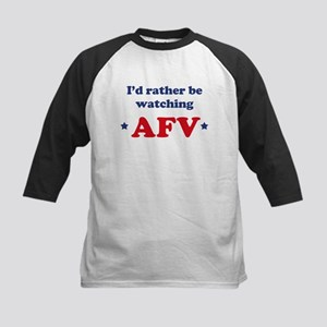 Id rather be watching AFV Kids Baseball Jersey