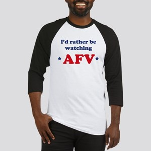 Id rather be watching AFV Baseball Jersey