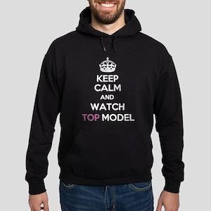 Keep Calm and Watch Top Model Hoodie (dark)