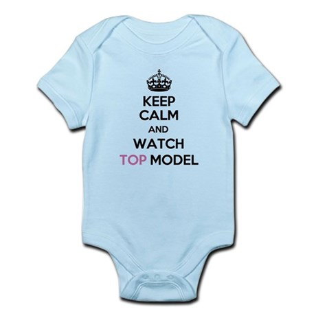 Keep Calm and Watch Top Model Infant Bodysuit