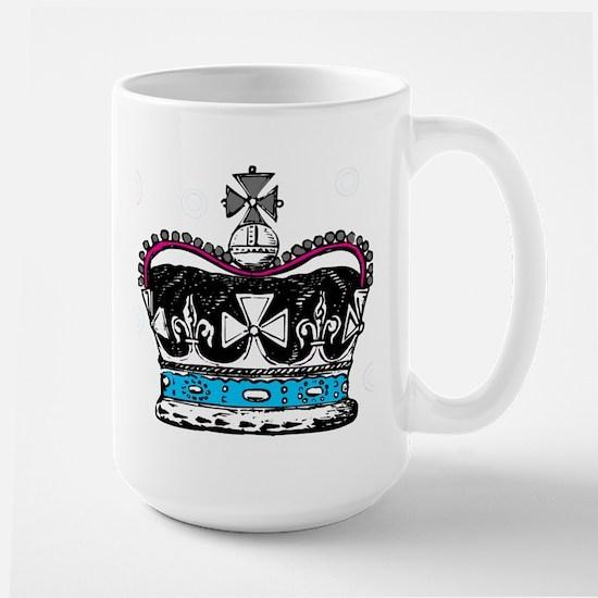 3-big crown Mugs