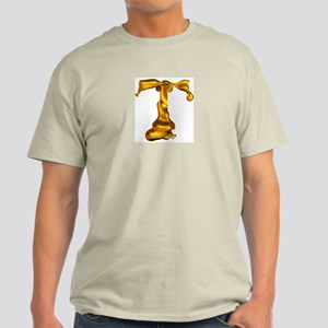 Blown Gold T Ash Grey T-Shirt