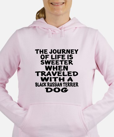 Traveled With Black Russ Women's Hooded Sweatshirt