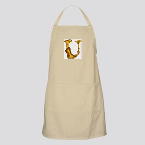 Blown Gold U BBQ Apron