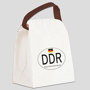 Car code DDR Canvas Lunch Bag