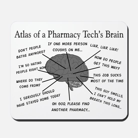 Atlas of a pharmacy techs brain.PNG Mousepad