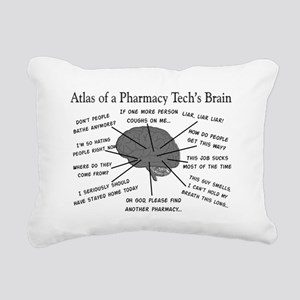 Atlas of a pharmacy techs brain Rectangular Ca