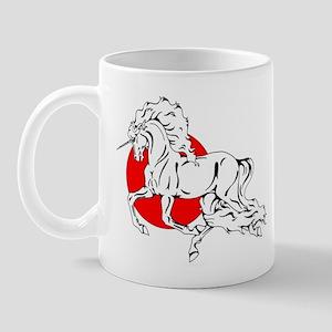 Red Moon Dancer Mug