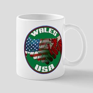 Wales USA Friendship Mug