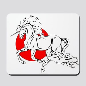 Red Moon Dancer Mousepad