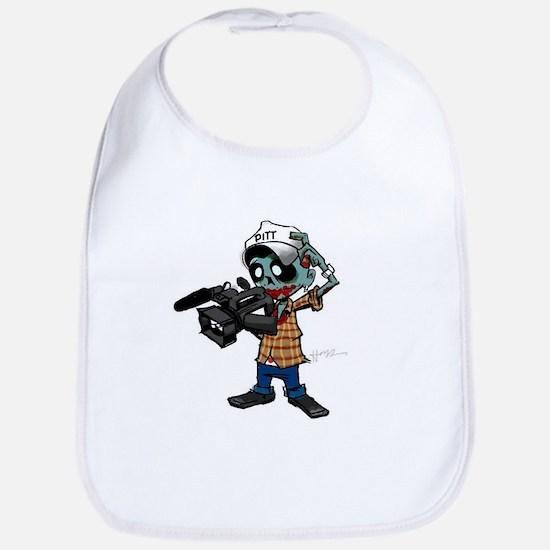 Zombie Camera Man Pitt Bib