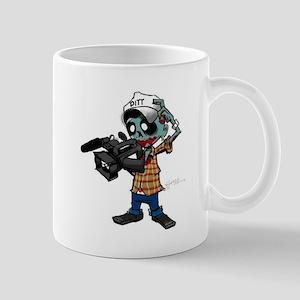 Zombie Camera Man Pitt Mug