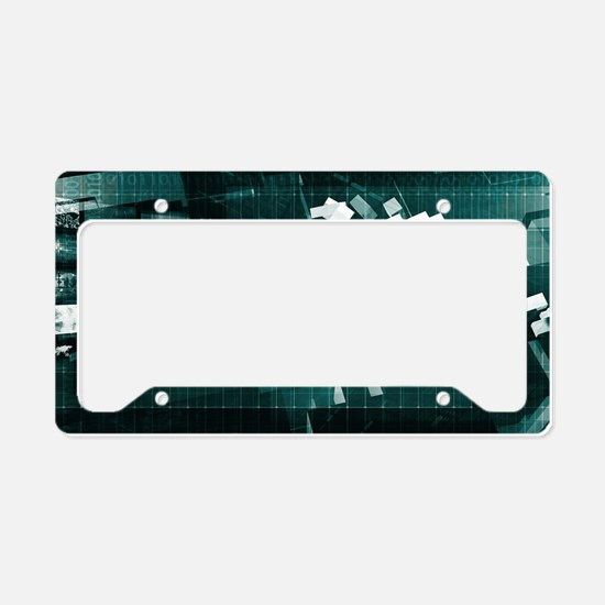 Cute Database professional License Plate Holder