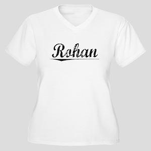 Rohan, Vintage Women's Plus Size V-Neck T-Shirt