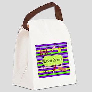 Nursing Student Canvas Lunch Bag
