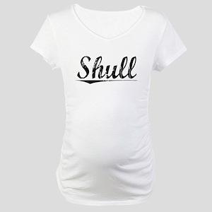 Shull, Vintage Maternity T-Shirt