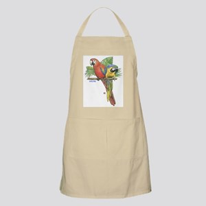 Tropical Macaws BBQ Apron
